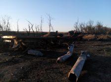 exploded rocket_Dmitrovka